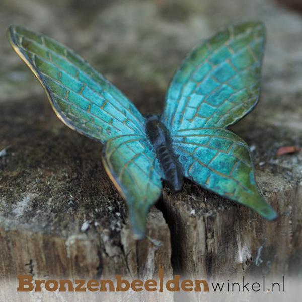 Bronzen vlinder beeld BBW1825
