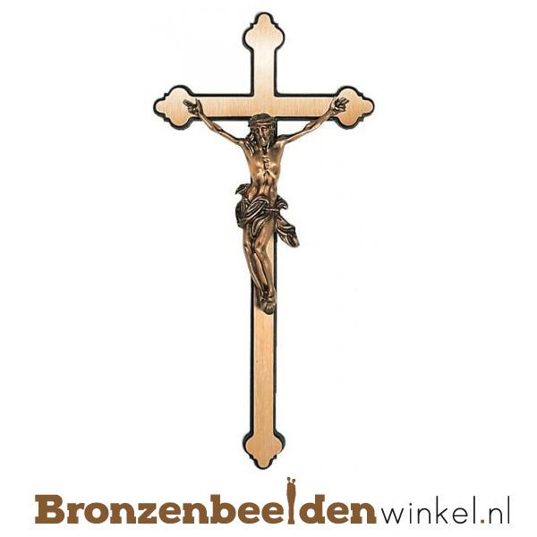 Bronzen kruis met Jezus Christus BBW20144