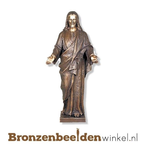 Bronzen Jezus Christus beeld BBW80420