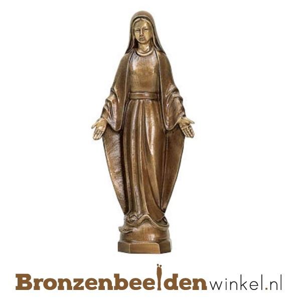 Bronzen Mariabeeld met zegende handen BBWP65020