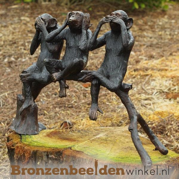 Horen zien zwijgen beeld apen BBW97190