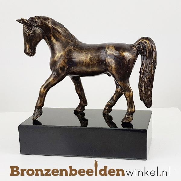 Bronzen paarden beeldje BBWFHPB3