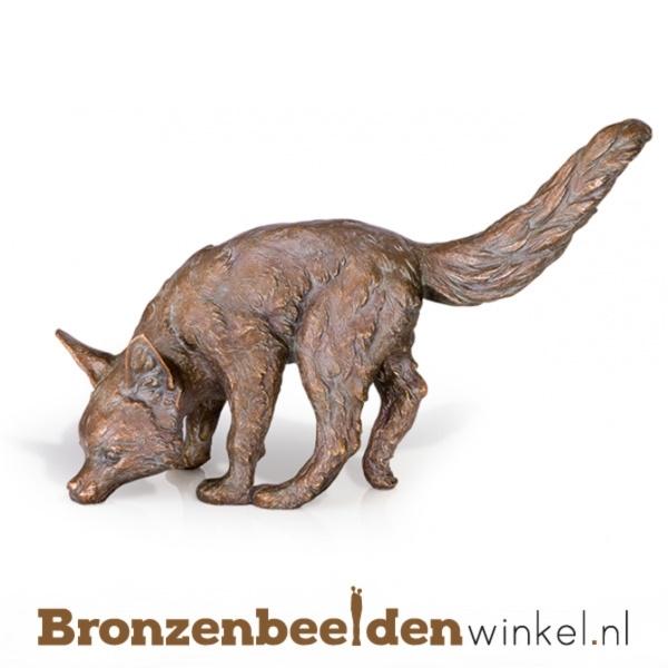 Bronzen vos beeld BBW37224