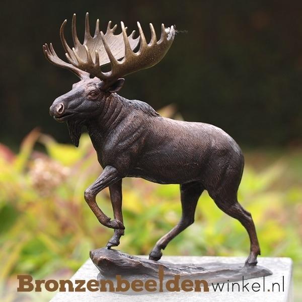 Bronzen beeld eland BBW1142