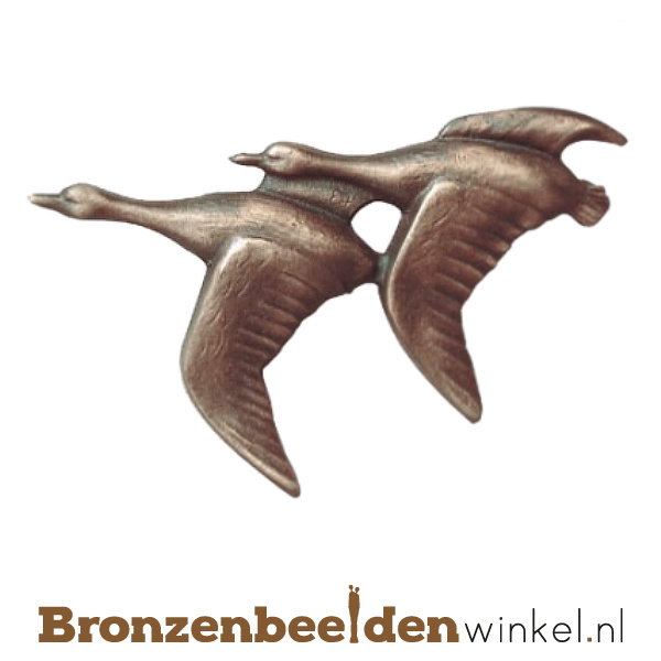 Dierenbeeldje ganzen brons BBWF5643