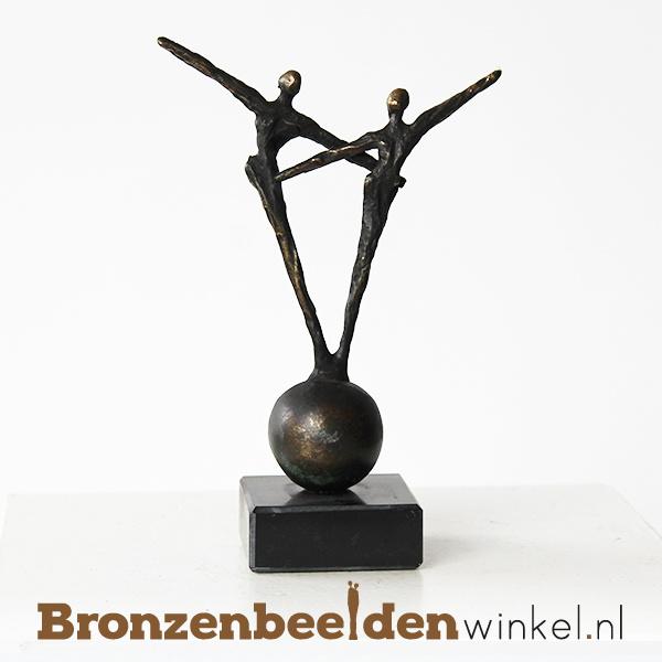 """Huwelijks cadeau """"Vrolijk"""" BBW005br59"""