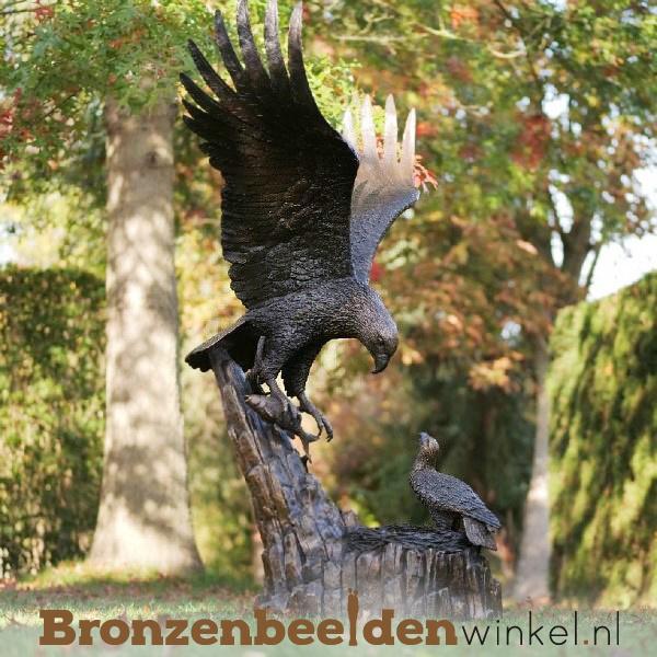 Tuinbeeld adelaar brons BBW1024br