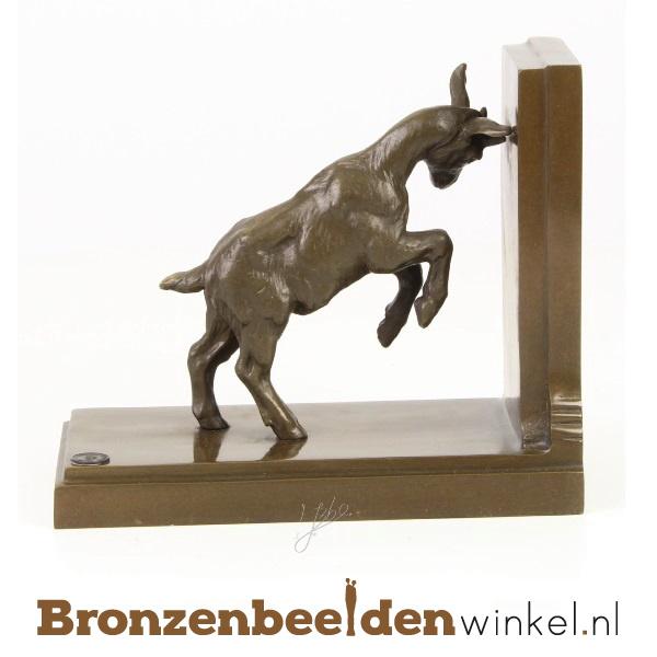 Bronzen boekensteun BBWJK47