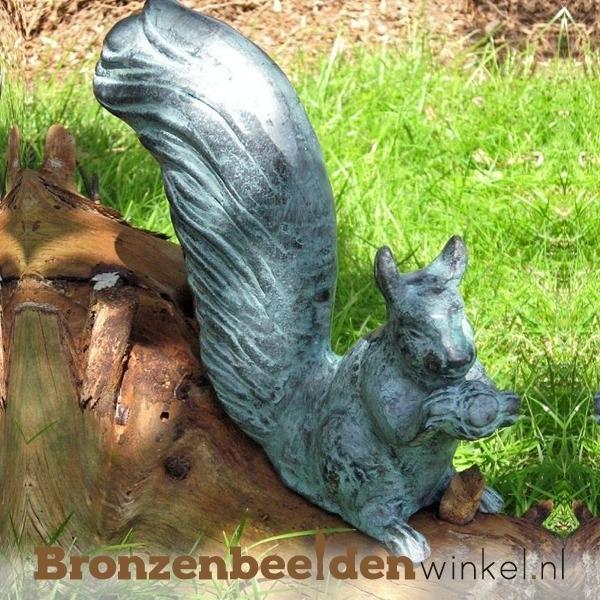 Bronzen eekhoorn beeld BBWAN3254V