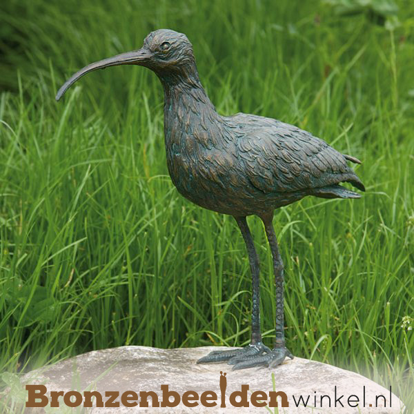 Bronzen wulp beeld BBWR88471