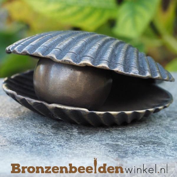 Bronzen asbeeldje schelp BBW0396BR