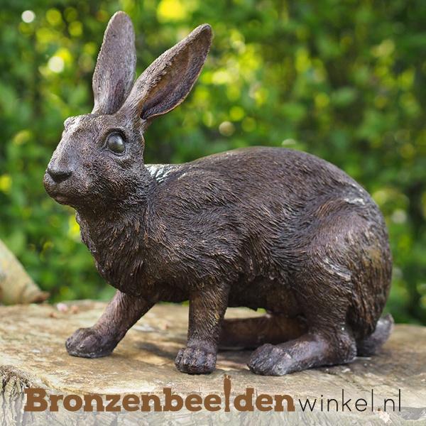 NR 10   Realistisch dierenbeeld konijn BBW9824br
