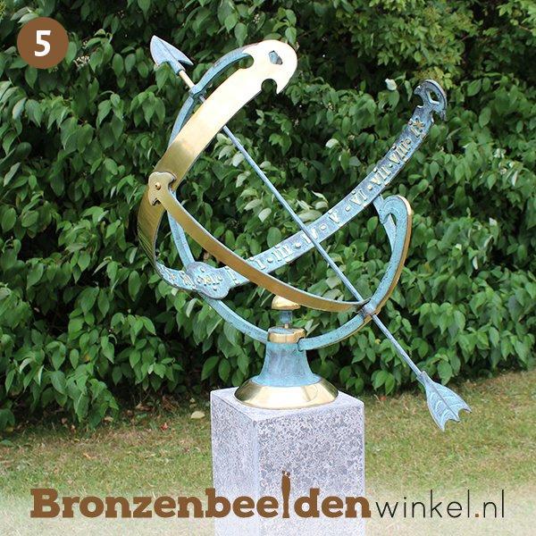 "NR 5   20 jaar getrouwd cadeau ""Zonnewijzer"" BBW0028br"