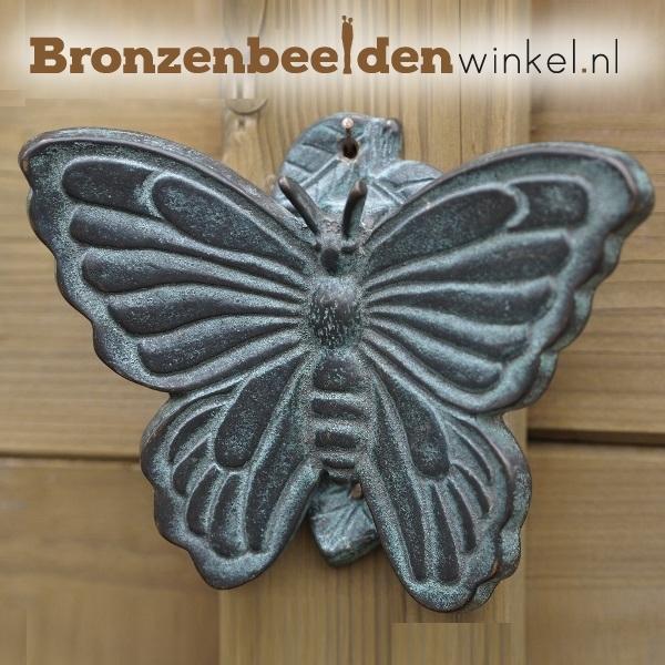 "Wanddeco brons ""Vlinder"" BBW0072br"