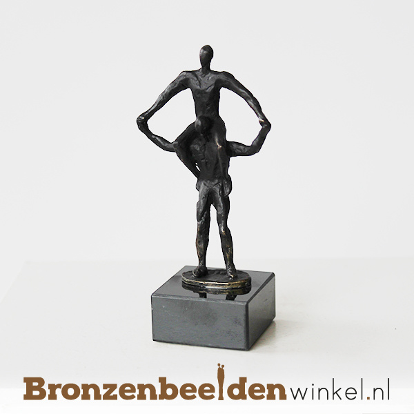 """Zakelijk beeldje """"Samen sterk"""" BBW003br02"""