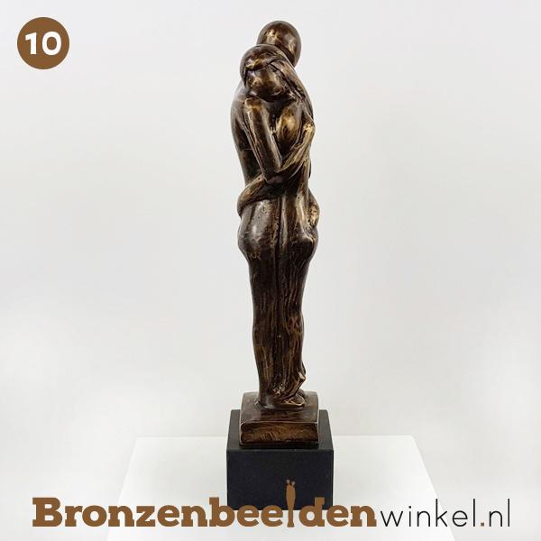 "NR 10   1 jaar getrouwd cadeau ""Geborgen voelen"" BBW001br10"