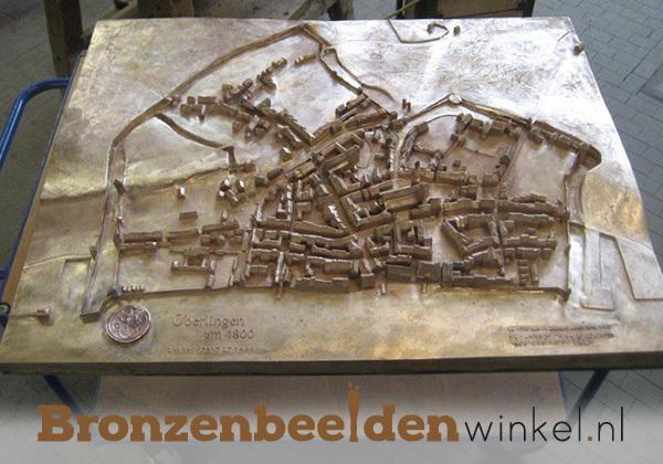 stad brons, bronzen stad