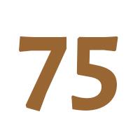 Verjaardagscadeau 75 jaar