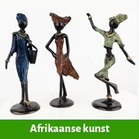 afrikaanse kunst beelden kopen