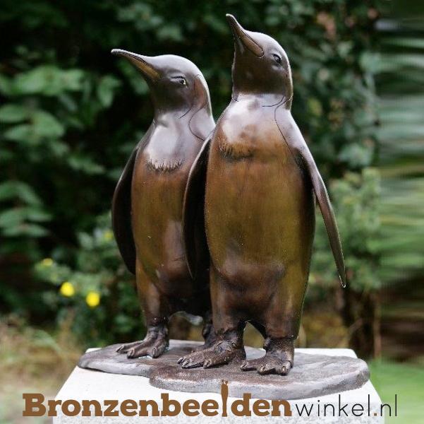 beeld penguins, penguin beelden, pinguin beeld tuin