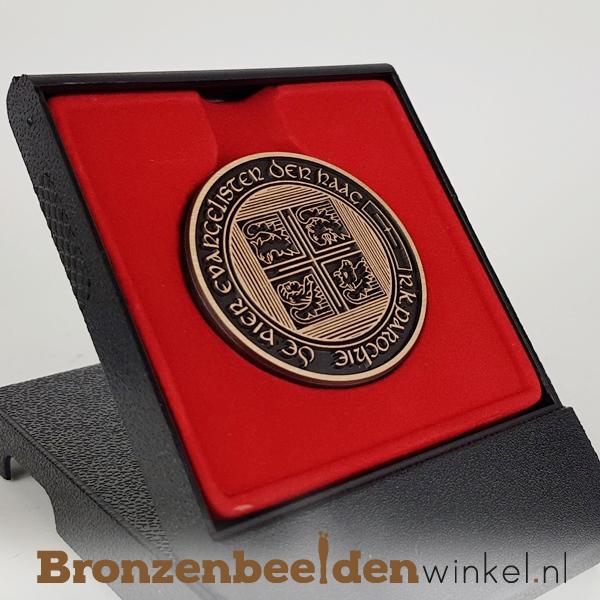 bronzen munt laten maken, bronzen penning