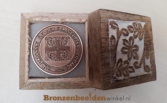 bronzen munt, bronzen penning
