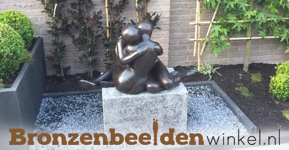 bronzen tuinbeeld