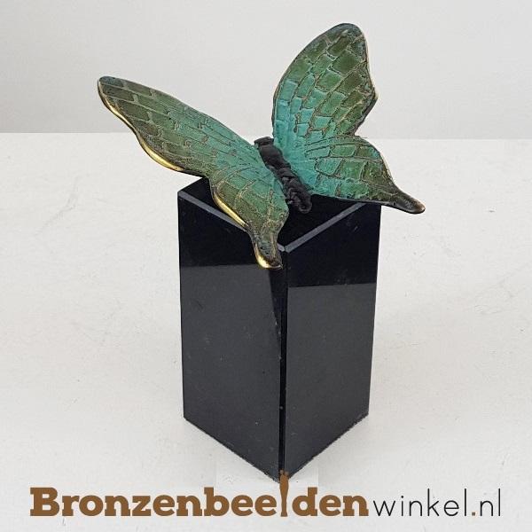 bronzen vlinder, vlinder beeldje