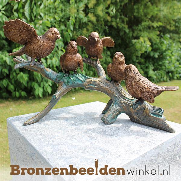 bronzen vogels, vogeltjes van brons