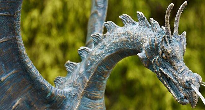 drakenbeelden, draken beelden