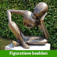 Figuratieve beelden als tuindecoratie