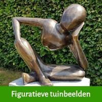 figuratieve beelden tuin