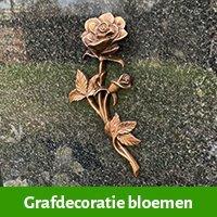 grafdecoratie-bloemen-brons-
