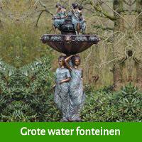 Grote water fonteinen