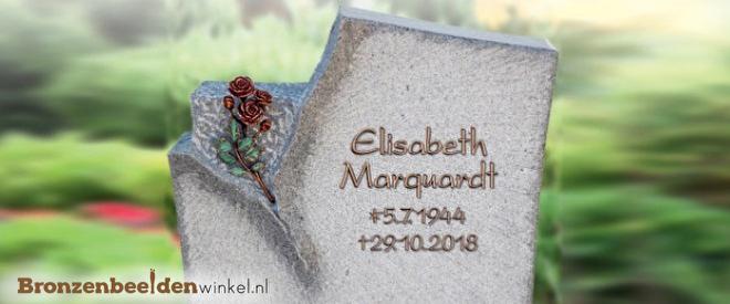 iemand gedenken begraafplaats