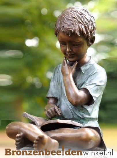 kinderbeelden van brons, bronzen beelden van kinderen