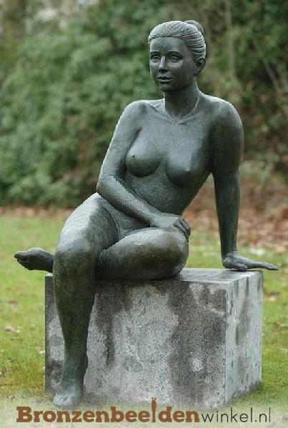 naakte vrouw beeld, tuinbeeld naakte vrouw
