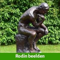 Rodin beelden brons