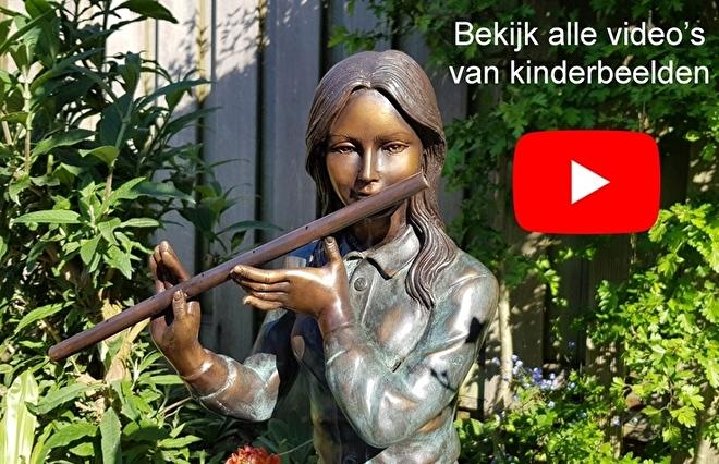 tuinbeeld kind, kinderbeelden tuin