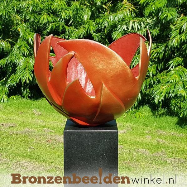 tuinbeeld bloem des levens, tuinbeeld levensbloem