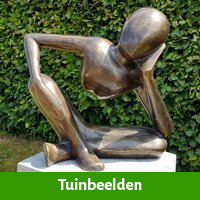 Prachtig tuinbeeld als origineel 45 jaar vrouw cadeau