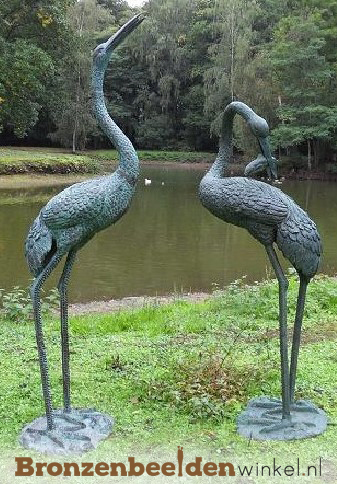 tuinbeeld kraanvogel