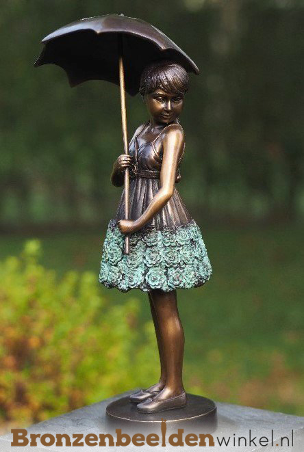 tuinbeeld meisje