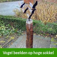 tuinbeeld vogels