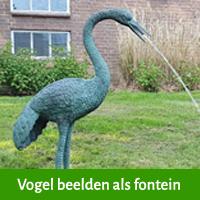 waterspuitfiguur vogel