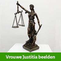 vrouwe justitia beelden, beeldje vrouwe justitia