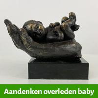 aandenken overleden baby