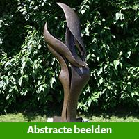 Abstracte tuinbeelden