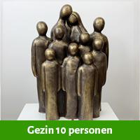 familie beeld 10 personen
