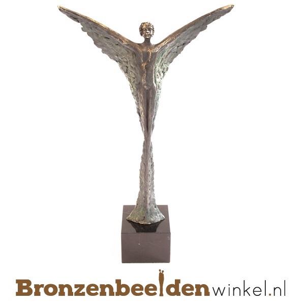 Beschermengel kopen van brons
